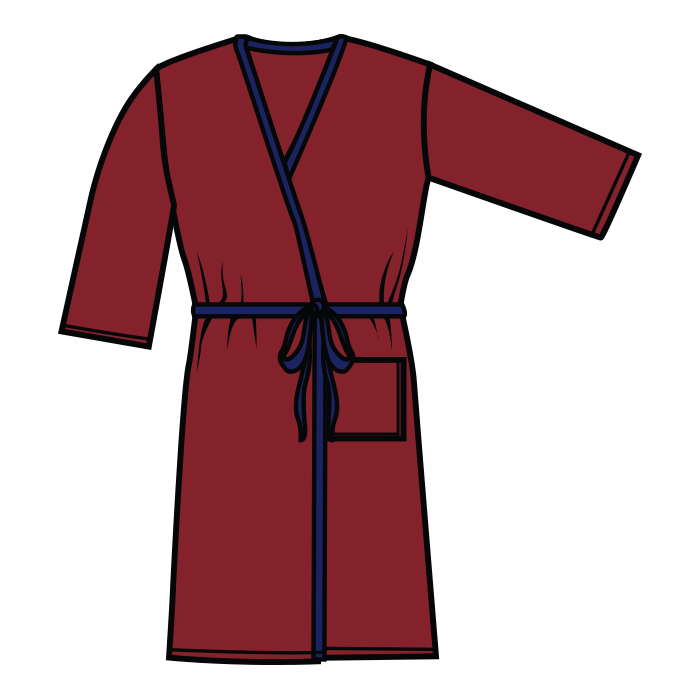 #906 Robe w/belt