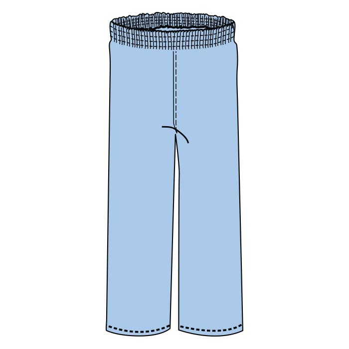 #2004-3004 Scrub Pant, Elastic Waist