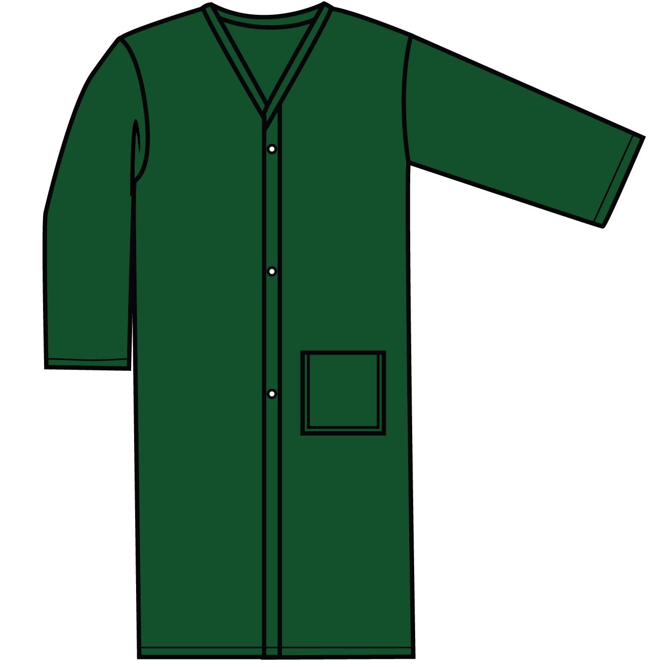 #906SN Robe w/snaps