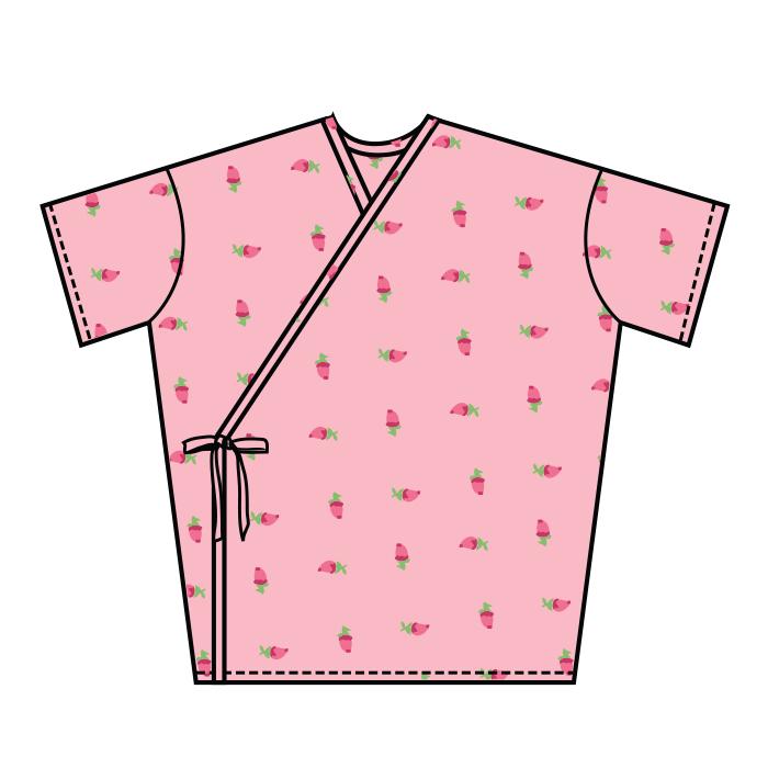 #513-Mammography Kimono Style Gown