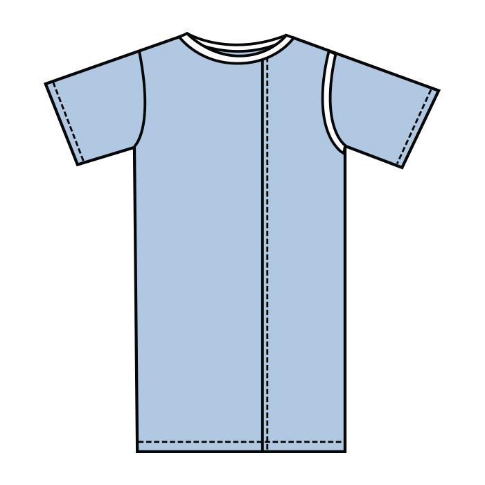 #801-Tri-Wrap Gown