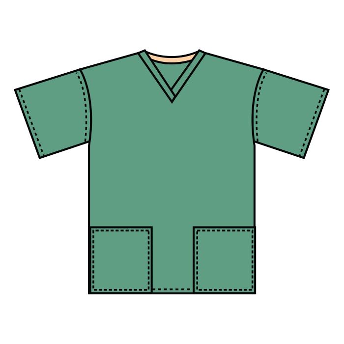 #2008 Scrub Tunic
