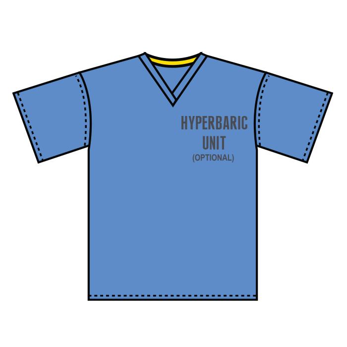 #1800-Hyperbaric Scrub Shirt