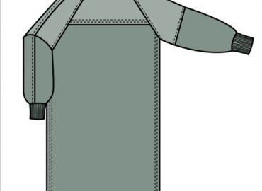 Quarpel Barrier Gown