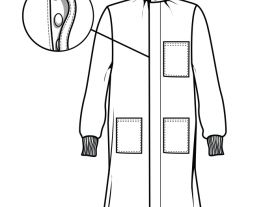Fluid Resistant Lab Coat